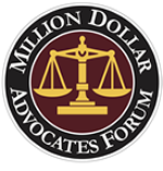 MEMBER OF THE MILLION DOLLAR ADVOCATES FORUM
